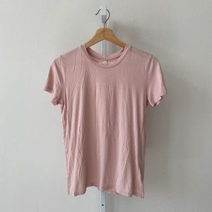 The Group Babaton Lagarde Short Sleeve Shirt Tee S